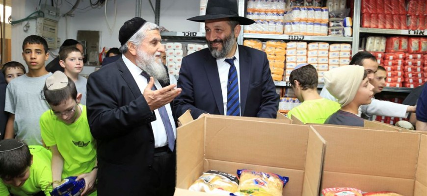 MK Rabbi Aryeh Deri:  This is the true Ministry of Social Affairs