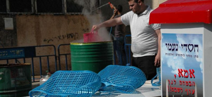 Preparing for Passover: Free Hagalat Kelim