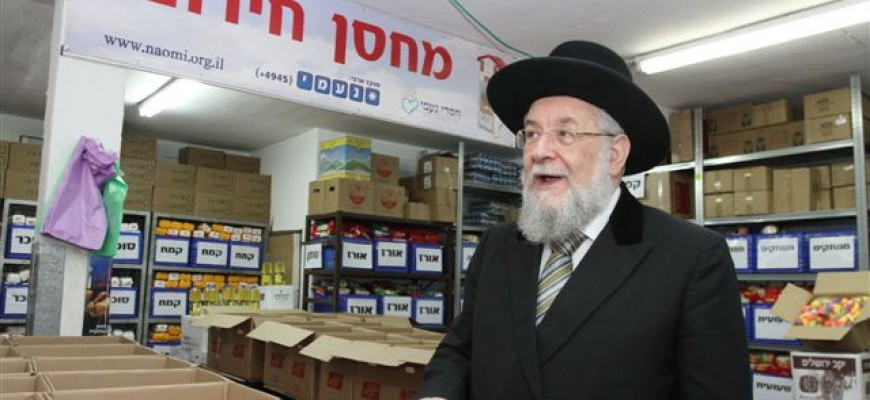 Letter of Congratulations from Rabbi Israel Meir Lau