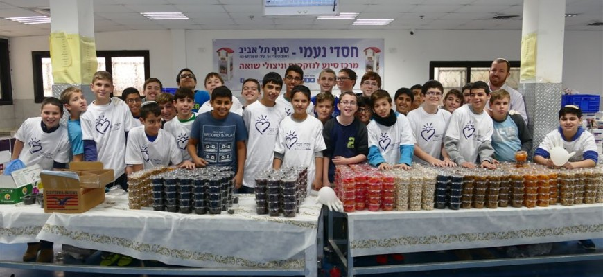 Once Again, Thousands of Israel's Needy to Receive Tu Bishvat Packages from Chasdei Naomi