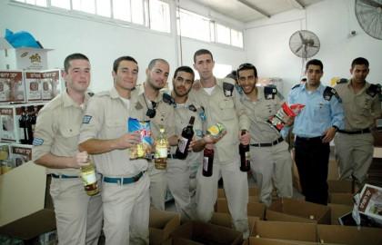 Volunteer soldiers