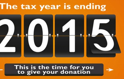 The tax year is ending 2015