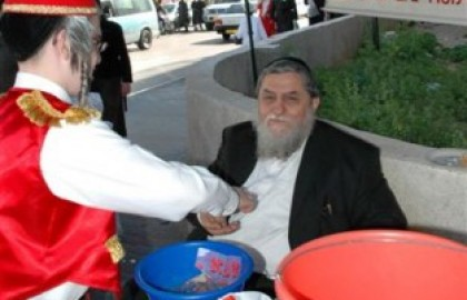 Gifts for the poor on Purim