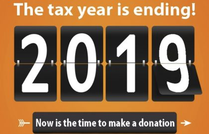 The tax year is ending TODAY 🧚🏻 it's a great time to make a donation 🙏