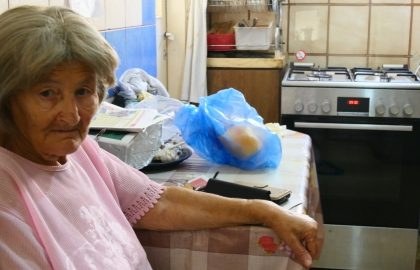 Ensuring a Happy New Year for needy Holocaust survivors and senior citizens