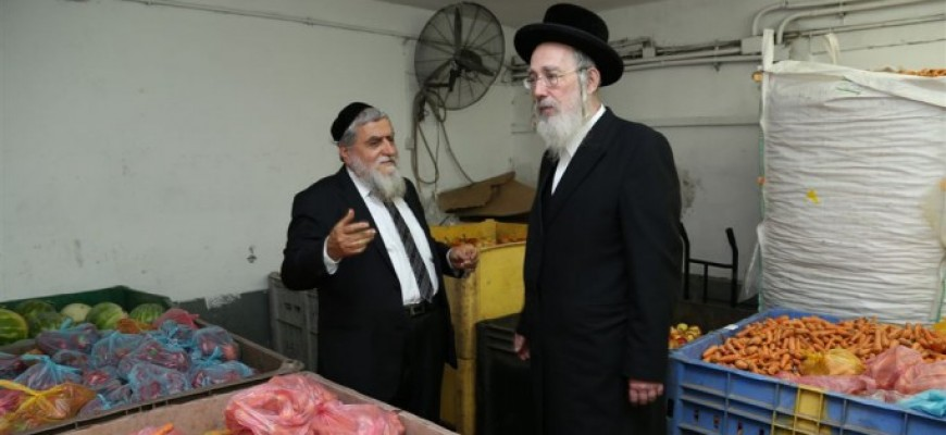 Special Visit to Chasdei Naomi by Rabbi MK Yisrael Eichler