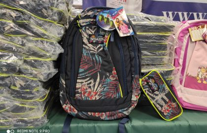 """School's out and many children won't have schoolbags next year either!  """"A school bag for every child"""""""
