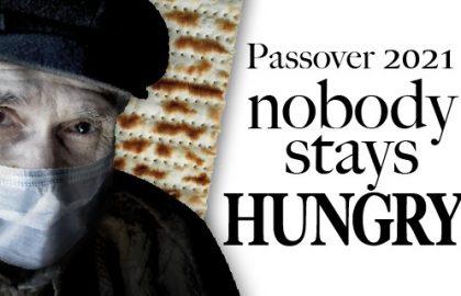 🆘 Emergency Campaign for Passover – thousands of seniors have no food for the holiday!